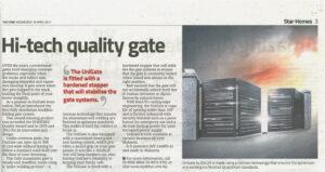Secure and stylish gates
